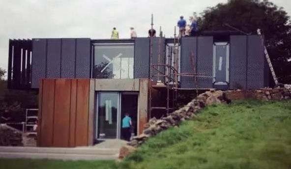 原来集装箱可以用来建别墅,好美