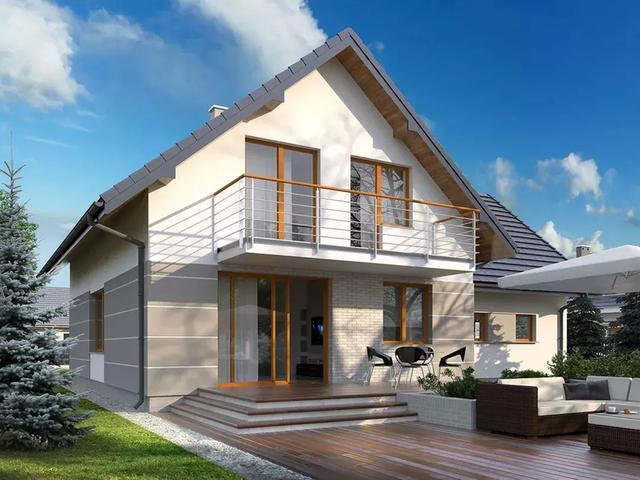 美爆德国的十四款 极简轻钢别墅