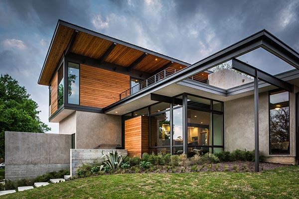 建造现代钢结构别墅其实并不难